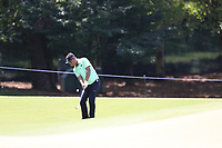 Thongchai Jaidee (THA) chips onto the 13th green during Thursday's Round 1 of the 2017 PGA Championship held at Quail Hollow Golf Club, Charlotte, North Carolina, USA. 10th August 2017.<br /> Picture: Eoin Clarke | Golffile<br /> <br /> <br /> All photos usage must carry mandatory copyright credit (&copy; Golffile | Eoin Clarke)