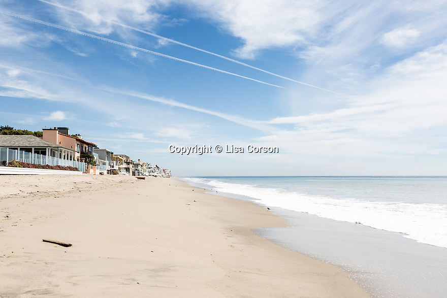 Carbon Beach. Malibu, California.