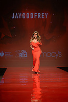 www.acepixs.com<br /> February 9, 2017  New York City<br /> <br /> Country singer Jessie James walks the runway at the American Heart Association's Go Red For Women Red Dress Collection 2017 presented by Macy's at Fashion Week at Hammerstein Ballroom on February 9, 2017 in New York City.<br /> <br /> Credit: Kristin Callahan/ACE Pictures<br /> <br /> <br /> Tel: 646 769 0430<br /> Email: info@acepixs.com