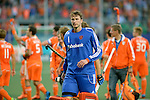 The Hague, Netherlands, June 06: Jaap Stockmann #1 of The Netherlands looks on after the field hockey group match (Men - Group B) between Germany and The Netherlands on June 6, 2014 during the World Cup 2014 at Kyocera Stadium in The Hague, Netherlands. Final score 0-1 (0-1) (Photo by Dirk Markgraf / www.265-images.com) *** Local caption ***