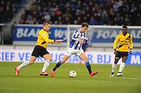 VOETBAL: HEERENVEEN: Abe Lenstra Stadion 04-04-2015, SC Heerenveen - NAC, uitslag 0-0, Simon Thern (#7), ©foto Martin de Jong