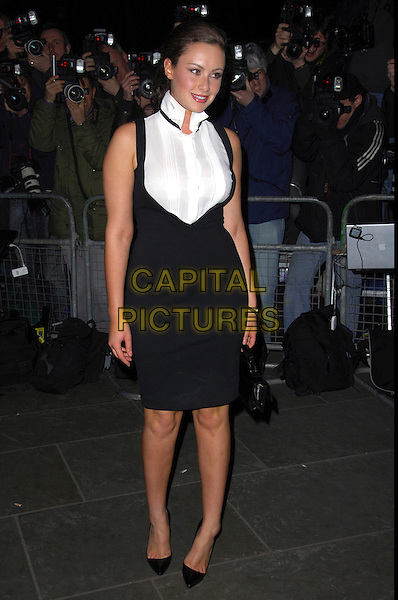 "CAMILLA AL FAYED.VIP private view of ""Vanity Fair Portraits"" sponsored by Burberry, National Portrait Gallery, London, England. .February 11th, 2008.full length black dress white shirt .CAP/CAS.©Bob Cass/Capital Pictures."