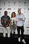 Power 105.1's Breakfast Club's Hosts Charlamagne Tha God, Anglea Yee and DJ Envy at Revolt TV 2014 Upfront Presentation Held at Marque, NY