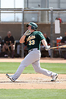 Josh Donaldson, Oakland Athletics 2010 minor league spring training..Photo by:  Bill Mitchell/Four Seam Images.