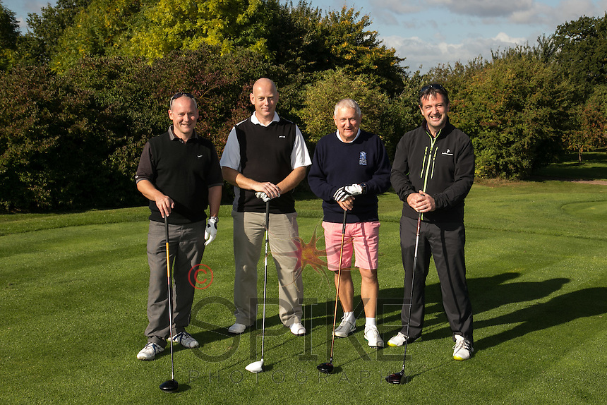 Pictured from left are the team from Gas Container Services - Ashley Reeves, Ian Roberts, Rick Barski and John Hickman