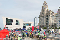 Picture by Allan McKenzie/SWpix.com - 24/09/2017 - Cycling - HSBC UK City Ride Liverpool - Albert Dock, Liverpool, England - General view, HSBC UK City Ride Hub with Liver Building.
