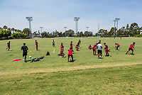 Carson, CA -  July 14, 2017: In the 2016-17 U.S. Soccer Development Academy U-15/16 Semi Finals FC Dallas vs Real Salt Lake at StubHub center.