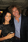 Frank Eudy (Big Brother 14) poses with Anna at SoapFest's Celebrity Weekend - Celebrity Karaoke Bar Bash - autographs, photos, live auction raising money for kids on November 10, 2012 at Bistro Soleil at Old Historic Marco  Island, Florida. (Photo by Sue Coflin/Max Photos)