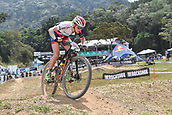 9th September 2017, Smithfield Forest, Cairns, Australia; UCI Mountain Bike World Championships; Annie Last (GBR) riding for OMX Pro Team on her way to second place in the elite womens cross country race;