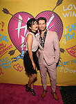 Renee Puente and Matthew Morrison attends the Opening Night Performance of ''Head Over Heels' at the Hudson Theatre on July 26, 2018 in New York City.