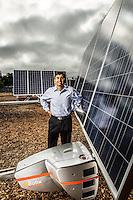 Portraits of Wasiq Bokhari - CEO QBotix - 2012