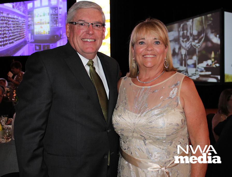 NWA Democrat-Gazette/CARIN SCHOPPMEYER Jon and Joanie Dyer support Arkansas Children's Northwest.