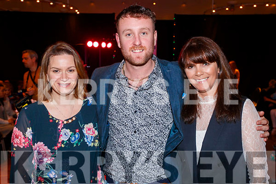 Pictured at the St. Vincent De Paul Fashion Show, at Ballyroe Heights Hotel, Tralee, on Thursday, November 23rd last, were l-r: Sarah Hayes, Shane Canty and Judy Griffin.