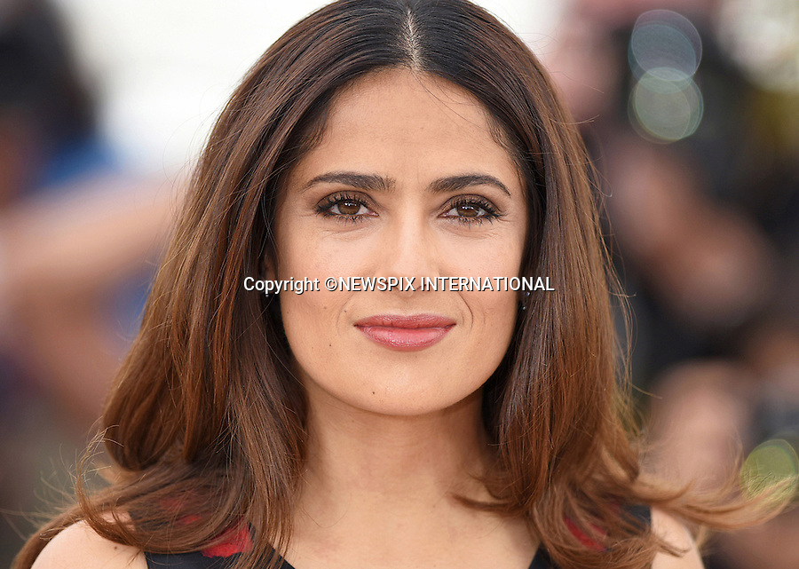 14.05.2015; Cannes France: SALMA HAYAK<br />