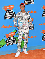 Bryce Xavier at Nickelodeon's 2018 Kids' Choice Awards at The Forum, Los Angeles, USA 24 March 2018<br /> Picture: Paul Smith/Featureflash/SilverHub 0208 004 5359 sales@silverhubmedia.com
