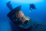 The wreck of the British submarine HMS Stubborn, which lies at 55 metres depth off the coast of Malta