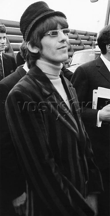 Beatle George Harrison, June 1966.