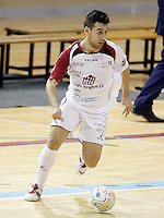 Caja Segovia's Sergio Gonzalez during Spanish National Futsal League match.November 24,2012. (ALTERPHOTOS/Acero) /NortePhoto