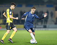 3rd December 2019; Pirelli Stadium, Burton Upon Trent, Staffordshire, England; English League One Football, Burton Albion versus Southend United; Brandon Goodship of Southend United turning with the ball at his feet  - Strictly Editorial Use Only. No use with unauthorized audio, video, data, fixture lists, club/league logos or 'live' services. Online in-match use limited to 120 images, no video emulation. No use in betting, games or single club/league/player publications