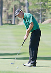 August 3, 2012: Nathan Green from Newcastle, NSW, Australia putts on the 14th hole during the second round of the 2012 Reno-Tahoe Open Golf Tournament at Montreux Golf & Country Club in Reno, Nevada.