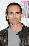 "BEVERLY HILLS, CA - NOVEMBER 27:  Nestor Carbonell arrives at the Los Angeles premiere of ""Certainty"" at the Lamelle Music Hall on November 27, 2012 in Beverly Hills, California."