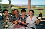 BALLYBUNION FEATURE ON BILL CLINTON .The champagne is already on ice    at Ballybunion Golf Club, from left, Cindy Walsh, Ann Carmody, Josephine and Carol O'Mahoney if he graces their dining room..©Picture by Don MacMonagle.6 Port Road, Killarney Co. Kerry, Ireland.Tel: 00-353+64+32833