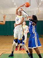 April 9, 2011 - Hampton, VA. USA; Jordon Woodard participates in the 2011 Elite Youth Basketball League at the Boo Williams Sports Complex. Photo/Andrew Shurtleff