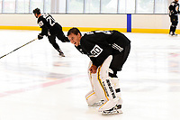 September 15, 2017: Boston Bruins goalie Tuukka Rask (40) skates during the Boston Bruins training camp held at Warrior Ice Arena in Brighton, Massachusetts. Eric Canha/CSM