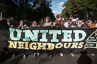 2014/09/27 Berlin | Demonstration gegen Vetreibung und für Bleiberecht