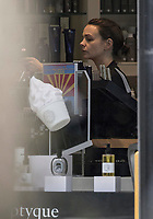 ***EXclusive****AS HER EX BOYFRIEND SHIA LABEOUF CANT GET OUT OF TROUBLE, CAREY MULLIGAN GOES SHOPPING AND TO A SPA IN NOTTING HILL