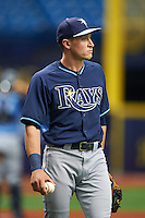 Tampa Bay Rays Alec Sole (65) during an instructional league game against the Boston Red Sox on September 24, 2015 at Tropicana Field in St Petersburg, Florida.  (Mike Janes/Four Seam Images)