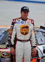 Sept. 19, 2008; Dover, DE, USA; Nascar Sprint Cup Series driver David Reutimann during qualifying for the Camping World RV 400 at Dover International Speedway. Mandatory Credit: Mark J. Rebilas-