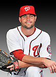 25 February 2011: Washington Nationals' pitcher Josh Wilkie poses for his Photo Day portrait at Space Coast Stadium in Viera, Florida. Mandatory Credit: Ed Wolfstein Photo