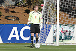14 November 2010: Maryland's Zac MacMath. The University of Maryland Terrapins defeated the University of North Carolina Tar Heels 1-0 at WakeMed Soccer Park in Cary, North Carolina in the ACC Men's Soccer Tournament Championship game.