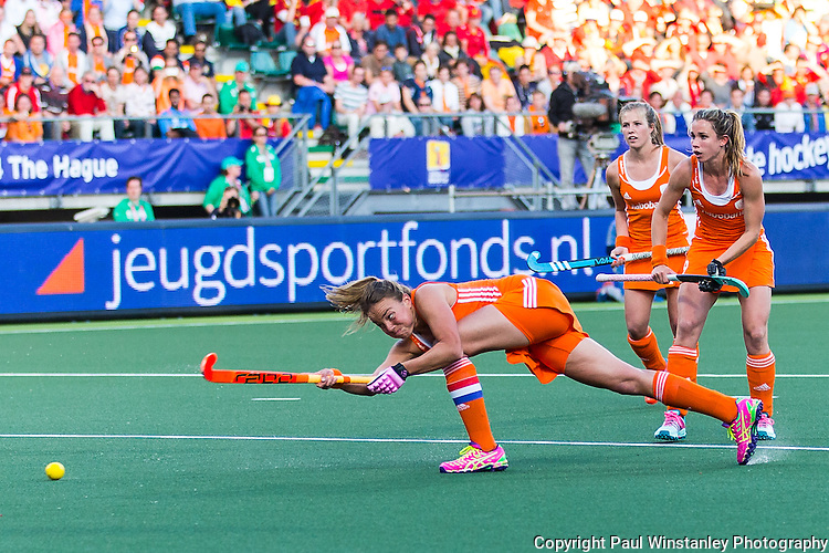 Netherlands Women vs Belgium Women in the Rabobank Hockey World Cup 2014