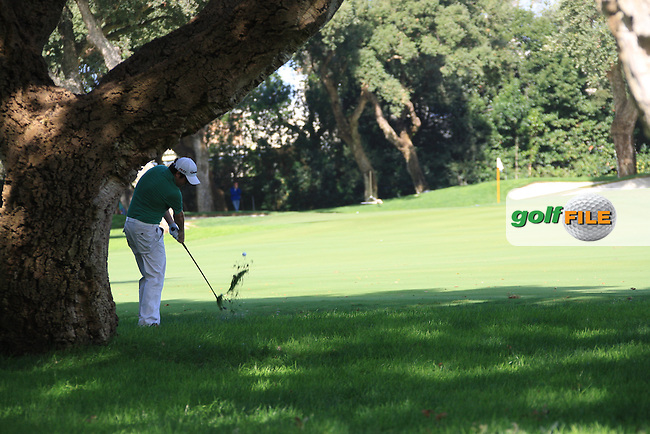 Paul Cutler (NIR) during the 1st day at the  Andalucía Masters at Club de Golf Valderrama, Sotogrande, Spain. .Picture Fran Caffrey www.golffile.ie