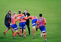 Oslo, 20091108. Cupfinalen, Molde-Aalesund. Kjetil Rekdal.