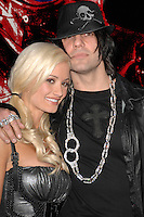 """Holly Madison and Criss Angel at the premiere of """"Repo"""" at The Mezz Showroom inside Planet Hollywood in las Vegas, Nevada."""