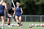 CARY, NC - JUNE 01: Abby Dahlkemper. The North Carolina Courage held a training session on June 1, 2017, at WakeMed Soccer Park Field 7 in Cary, NC.