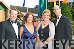 Jenny, Mark Desaulles Killarney and John and Mary Breen Castleisland having fun at the Killarney Summerfest Ball in the INEC on Thursday night.