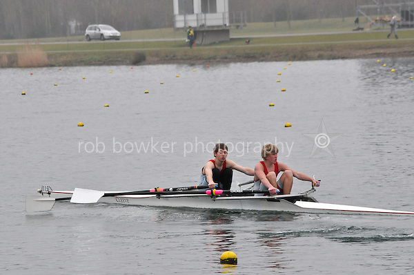 115 WallingfordRC J15A.2x Wilkinson..Marlow Regatta Committee Thames Valley Trial Head. 1900m at Dorney Lake/Eton College Rowing Centre, Dorney, Buckinghamshire. Sunday 29 January 2012. Run over three divisions.