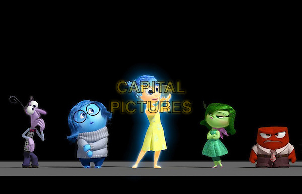 CAST<br /> in Inside Out (2015) <br /> *Filmstill - Editorial Use Only*<br /> CAP/FB<br /> Image supplied by Capital Pictures