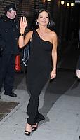 "Catherine Zeta-Jones arrives at ""The Late Show"" - New York"