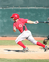 Sean Danielson, Cincinnati Reds 2010 minor league spring training..Photo by:  Bill Mitchell/Four Seam Images.