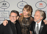 WWW.BLUESTAR-IMAGES.COM (L-R) Honoree Lucian Grainge; Taylor Swift; Neil Portnow  attend the 56th annual GRAMMY Awards Pre-GRAMMY Gala and Salute to Industry Icons honoring Lucian Grainge at The Beverly Hilton on January 25, 2014 in Los Angeles, California.<br /> Photo: BlueStar Images/OIC jbm1005  +44 (0)208 445 8588