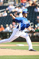 Bryan Bullington, Kansas City Royals 2010 minor league spring training..Photo by:  Bill Mitchell/Four Seam Images.
