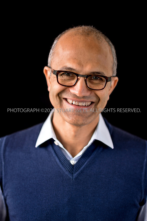 2/13-2014&mdash;Redmond, WA, USA<br /> <br /> Satya Narayana Nadella, 47, CEO of Microsoft. He was appointed CEO of the Redmond, Washington based company on 4 February 2014, succeeding Steve Ballmer. Photographed on the Microsoft Campus.<br /> <br /> Photograph by Stuart Isett<br /> &copy;2014 Stuart Isett. All rights reserved.