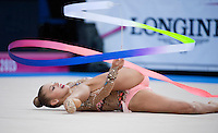 September 09, 2015 - Stuttgart, Germany - ALEKSANDRA SOLDATOVA of Russia performs during AA qualifications at 2015 World Championships.