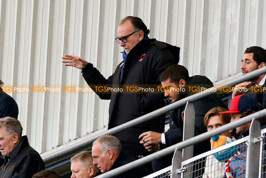 Leyton Orient owner Francesco Becchetti during Leyton Orient vs Yeovil Town, Sky Bet EFL League 2 Football at the Matchroom Stadium on 17th September 2016