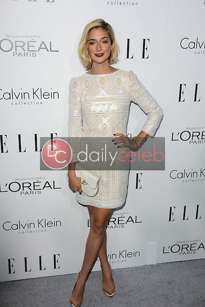 """Caitlin FitzGerald<br /> at the Elle 20th Annual """"Women In Hollywood"""" Event, Four Seasons Hotel, Beverly Hills, CA 10-21-13<br /> David Edwards/Dailyceleb.com 818-249-4998"""